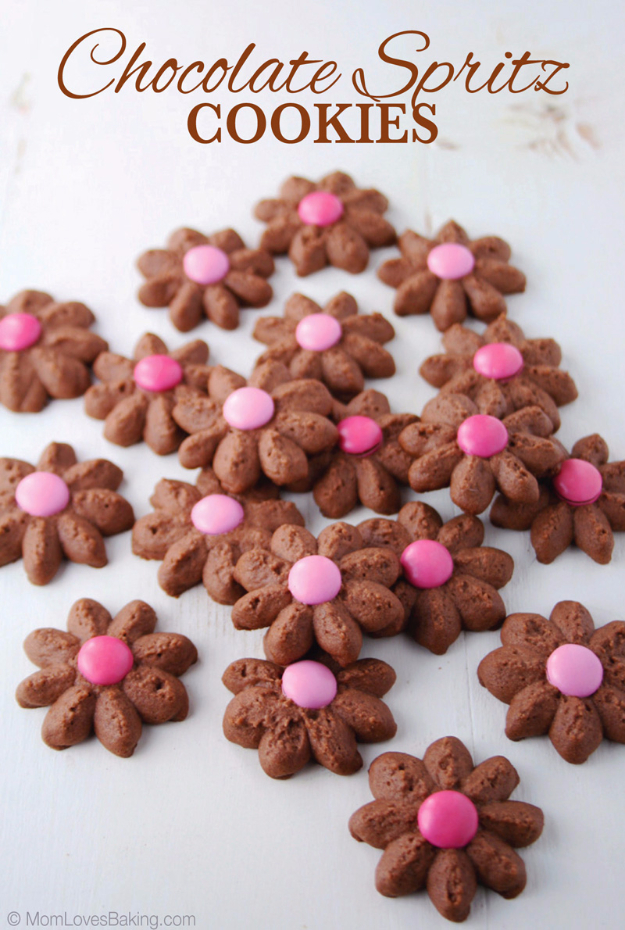 DIY Valentines Day Cookies - Chocolate Spritz Cookies - Easy Cookie Recipes and Recipe Ideas for Valentines Day - Cute DIY Decorated Cookies for Kids, Homemade Box Cookies and Bouquet Ideas - Sugar Cookie Icing Tutorials With Step by Step Instructions - Quick, Cheap Valentine Gift Ideas for Him and Her http://diyjoy.com/diy-valentines-day-cookie-recipes