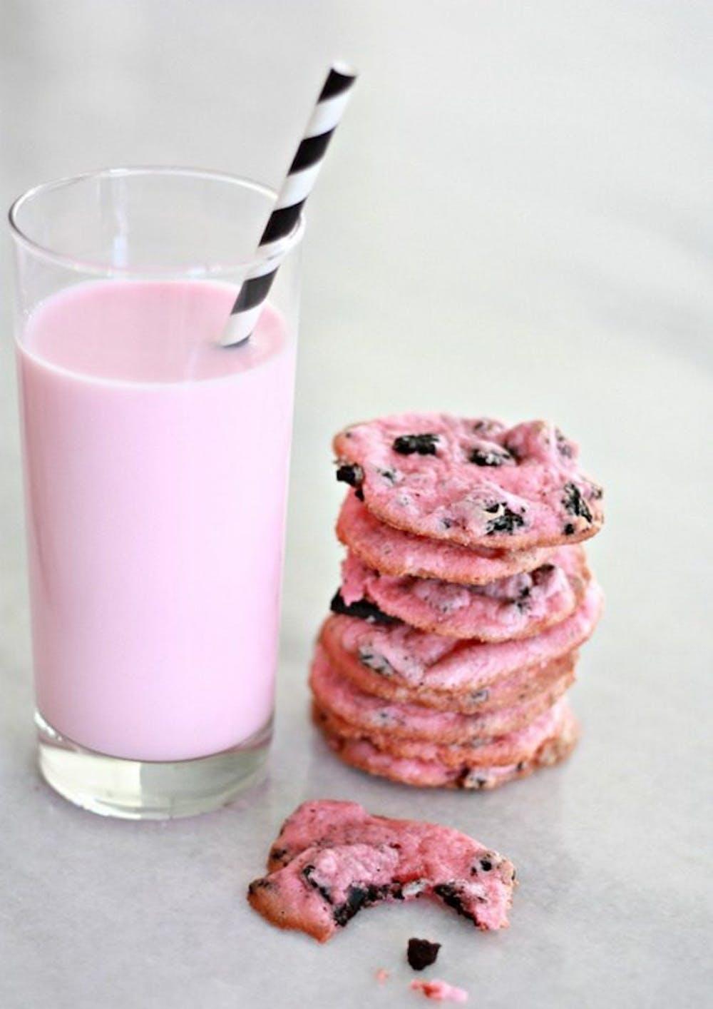 Pink Oreo Cheesecake Valentine