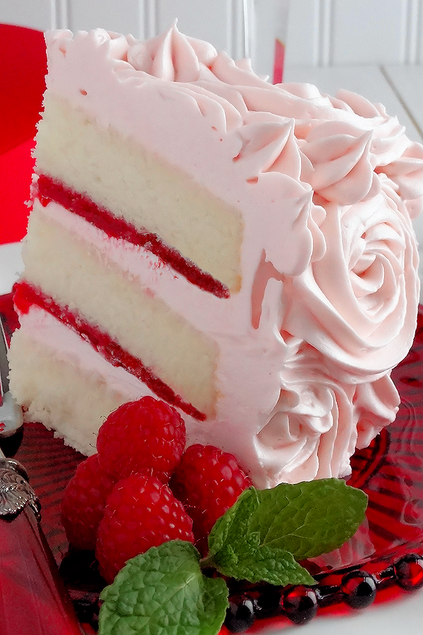 Pink Champagne Velvet Layer Cake
