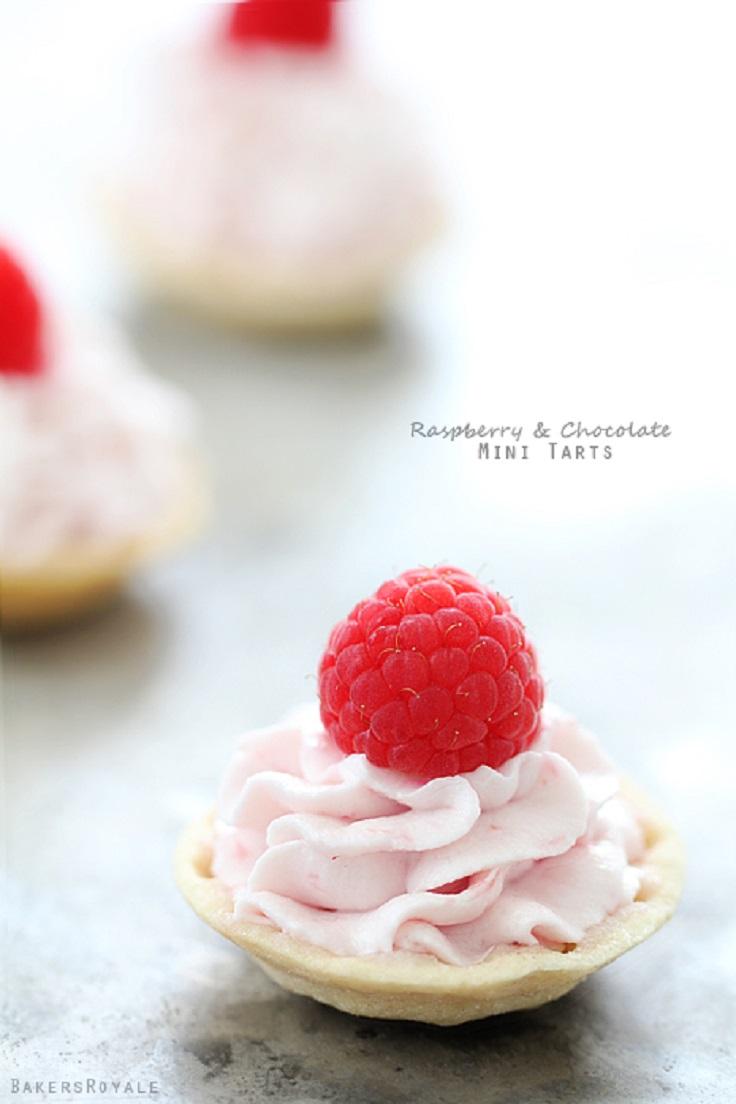 Raspberry-and-Chocolate-Mini-Tartlets