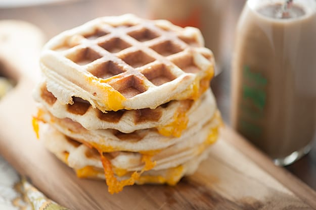 We love these biscuit waffles! They