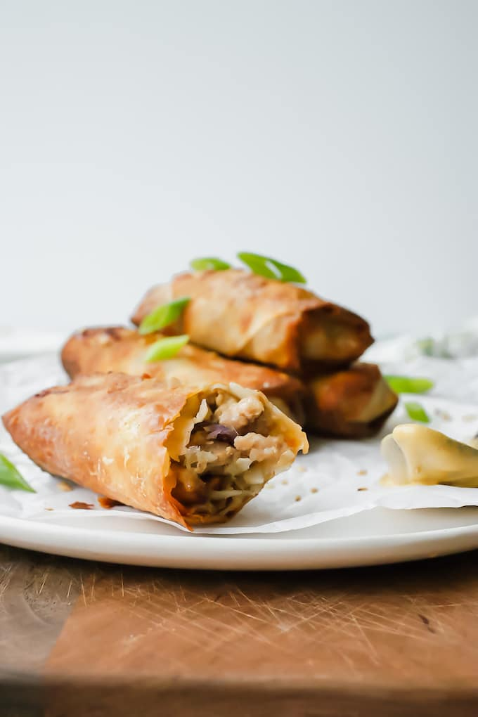 I know Egg Rolls seem a little daunting to make but we