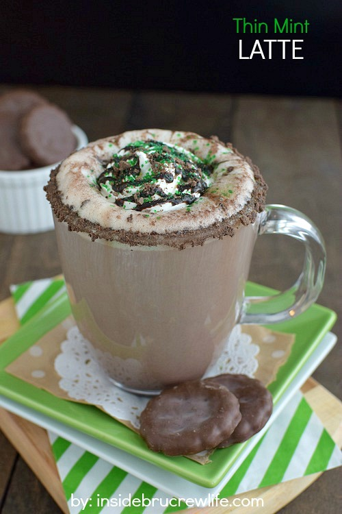 10 Fabulous Coffee Recipes- Thin Mint Latte