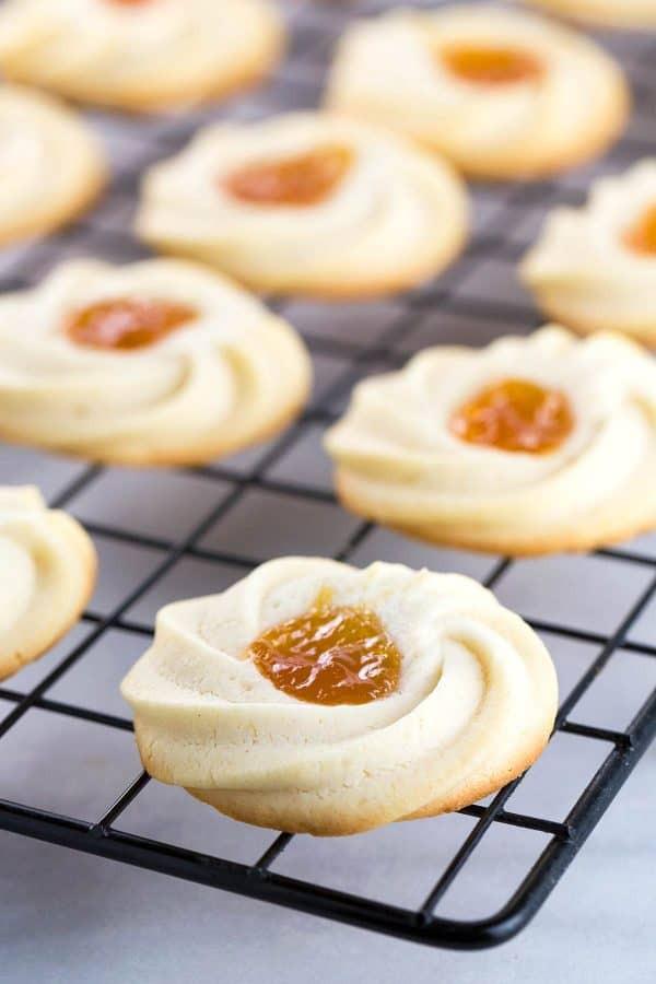 Apricot Spritz Cookie