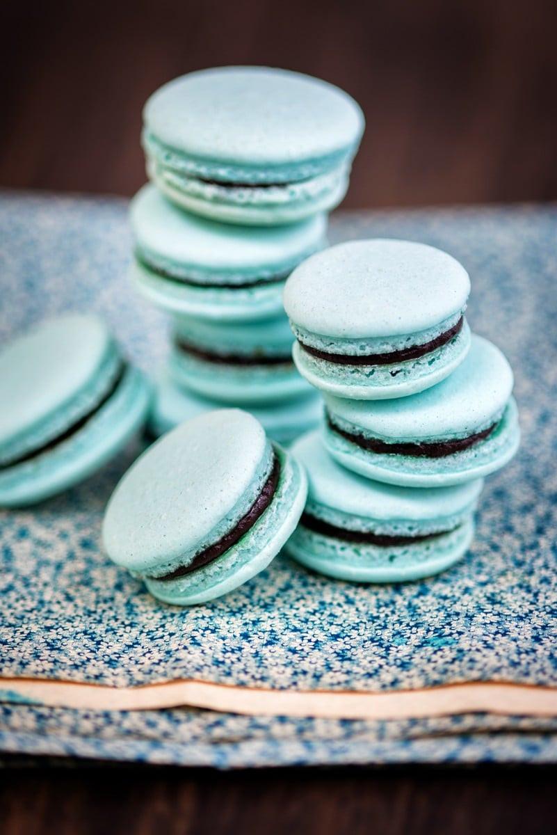 Aquafaba Macarons 2
