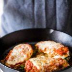 Asparagus Stuffed Chicken Parmesan (Gluten Free)