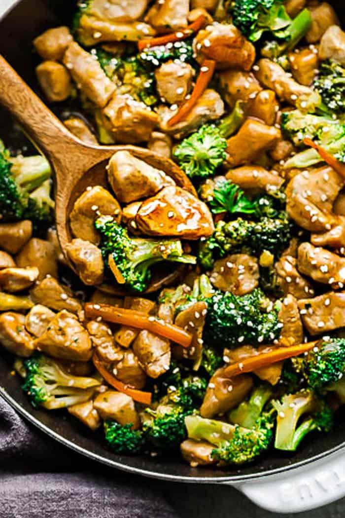 Chicken and Broccoli Stir Fry 1