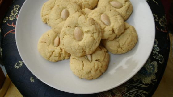 Chinese Almond Cookies 2