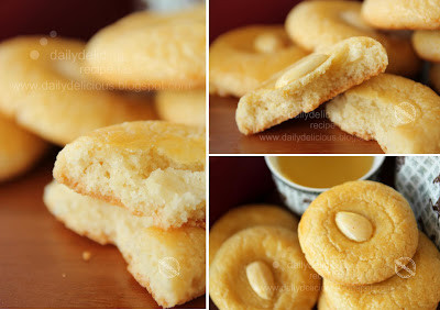 Chinese Almond Cookies Step 4