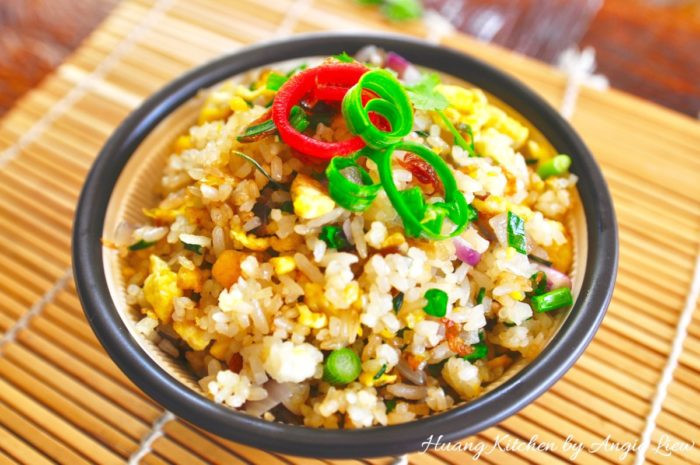 Chinese Egg Fried Rice 1