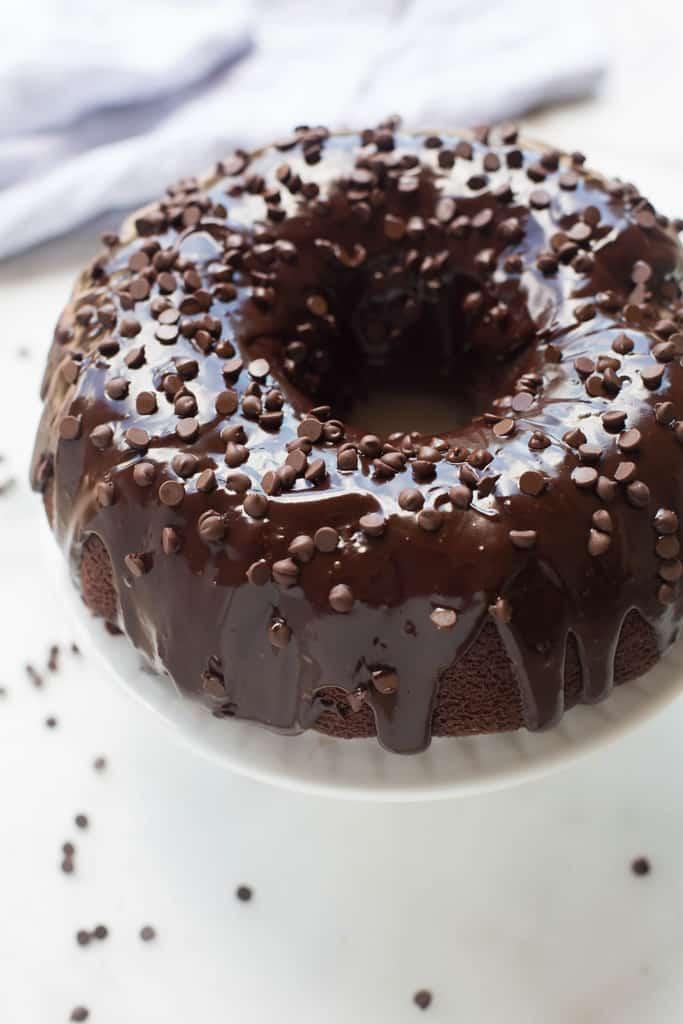 Chocolate Bundt Cake 1