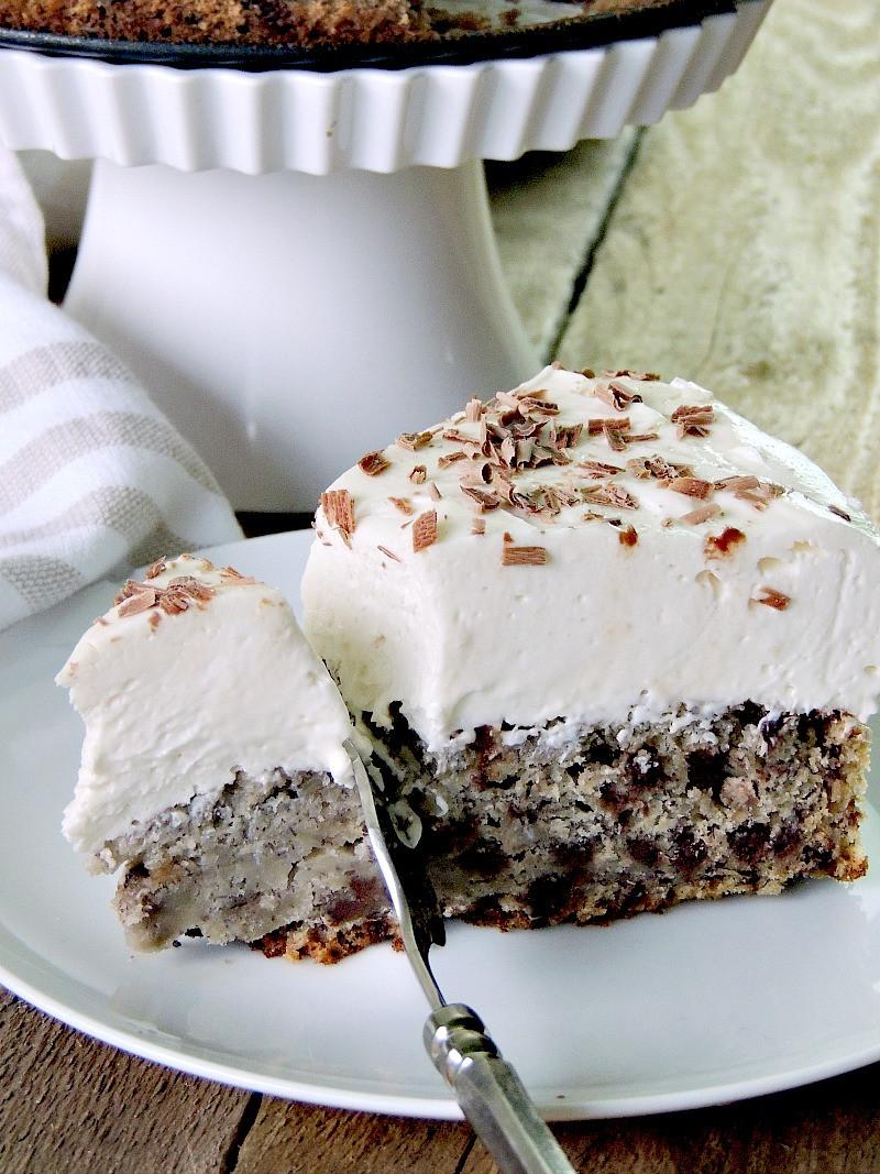 Chocolate Chip Banana Bread Cheesecake 1