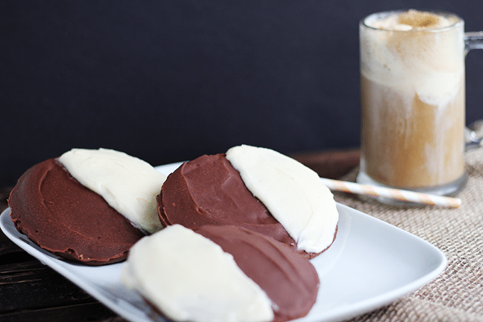 Chocolate Half Moon Cookies