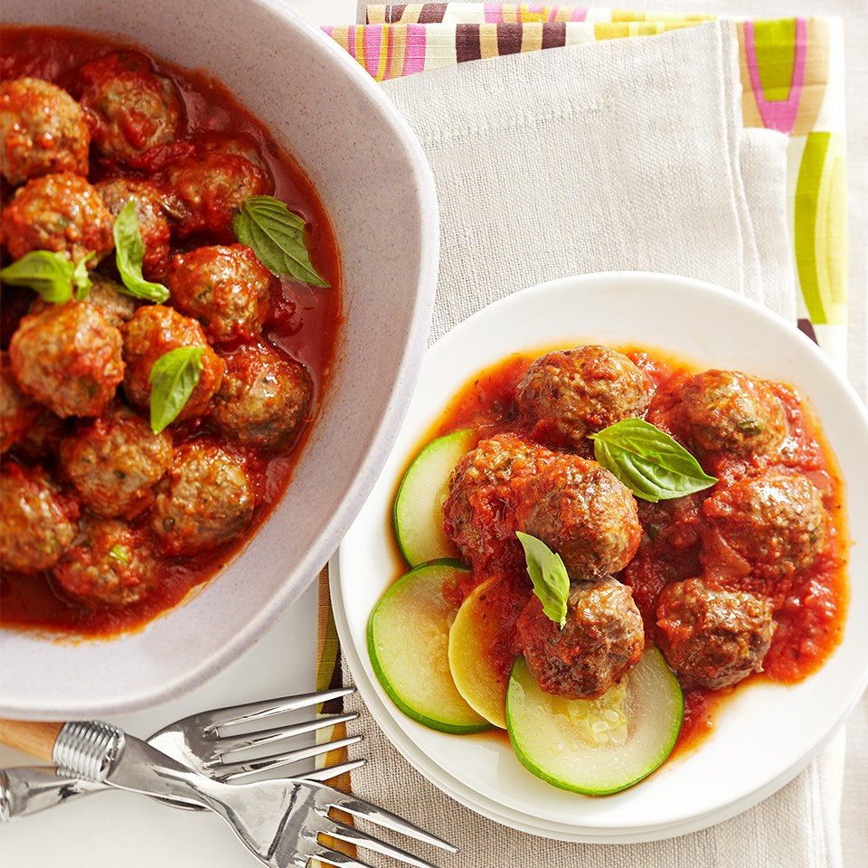 Classic Marinara Meatballs