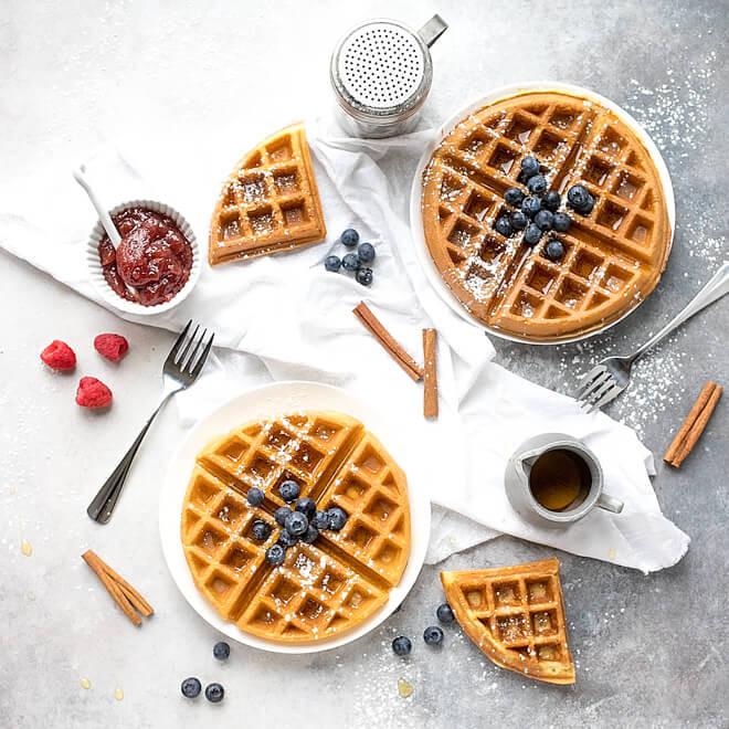 Crispy Belgian Waffles 1