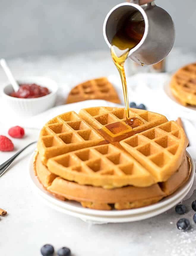 Crispy Belgian Waffles