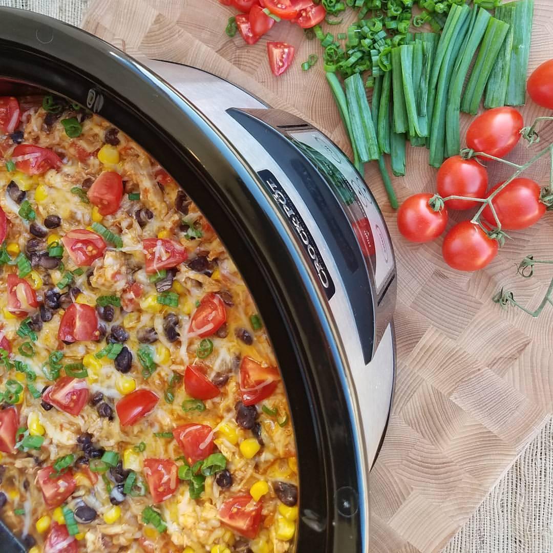 Crock-Pot Burrito Bowls 1