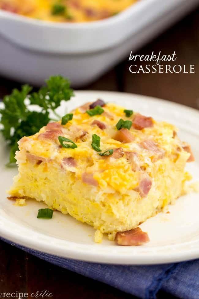 Easy Breakfast Casserole 1