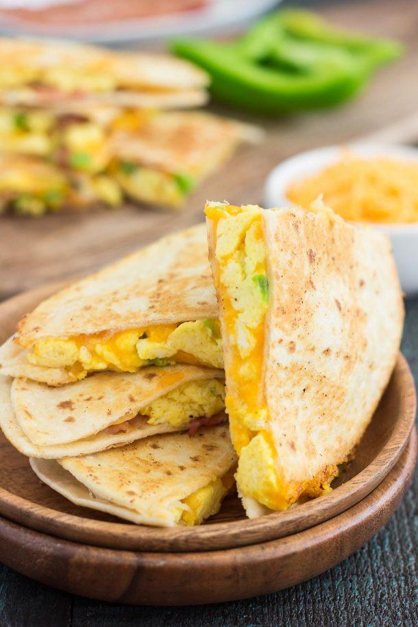 Easy Breakfast Quesadillas 1