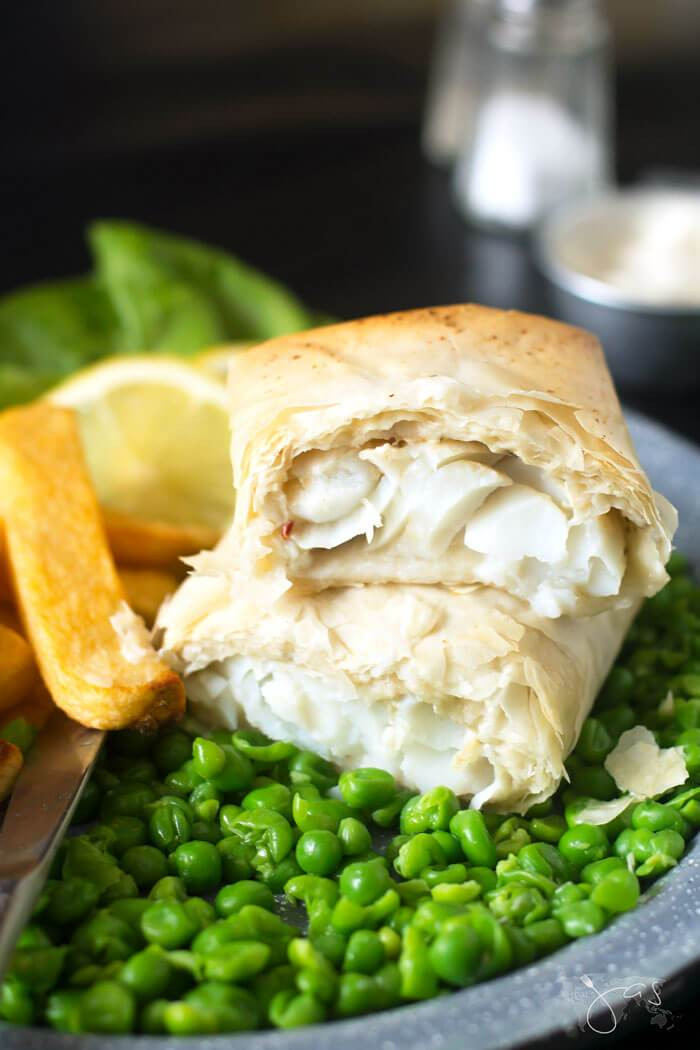 Fillo Pastry Fish & Chips 2