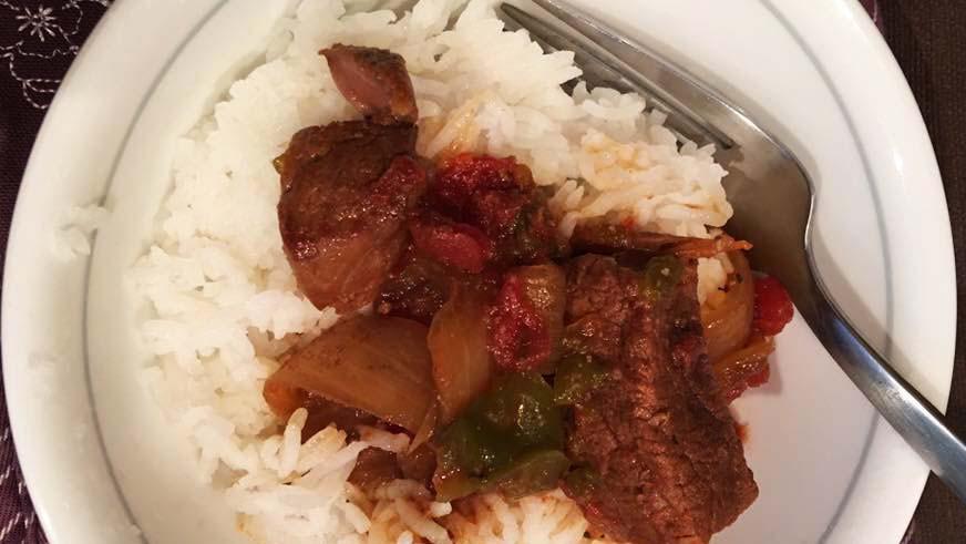 Healthy Slow-Cooker Pepper Steak