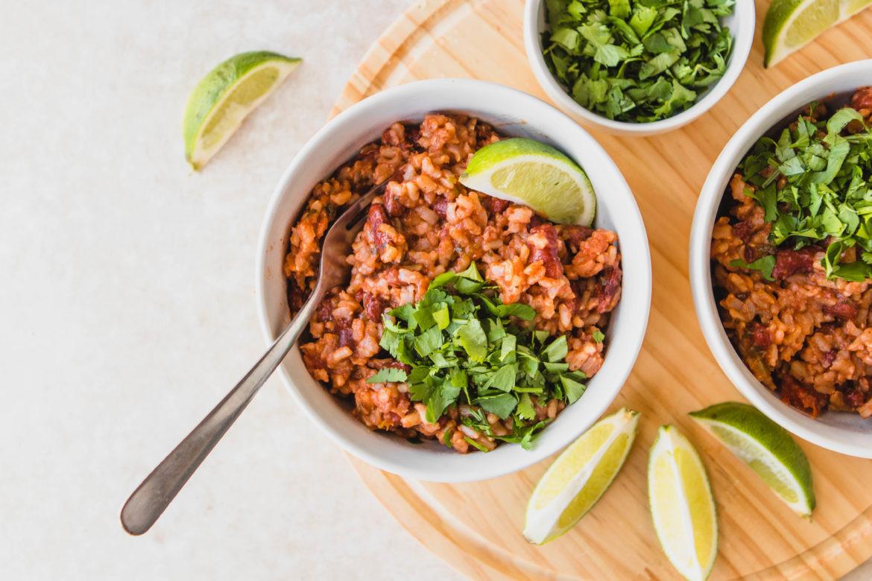 Instant Pot Rice & Beans