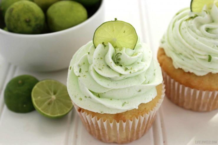 Key Lime Cupcakes 1