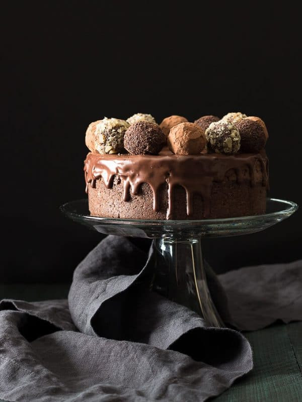 Low Carb Chocolate Truffle Cheesecake 1