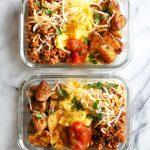 Meal Prep Breakfast Taco Scramble 1