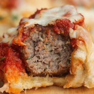 Meatball Marinara Pull-Apart Buns
