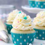Moist Vanilla Cupcake 1