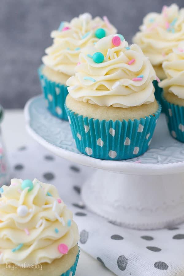 Moist Vanilla Cupcake 2