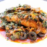 Moroccan Baked Fish