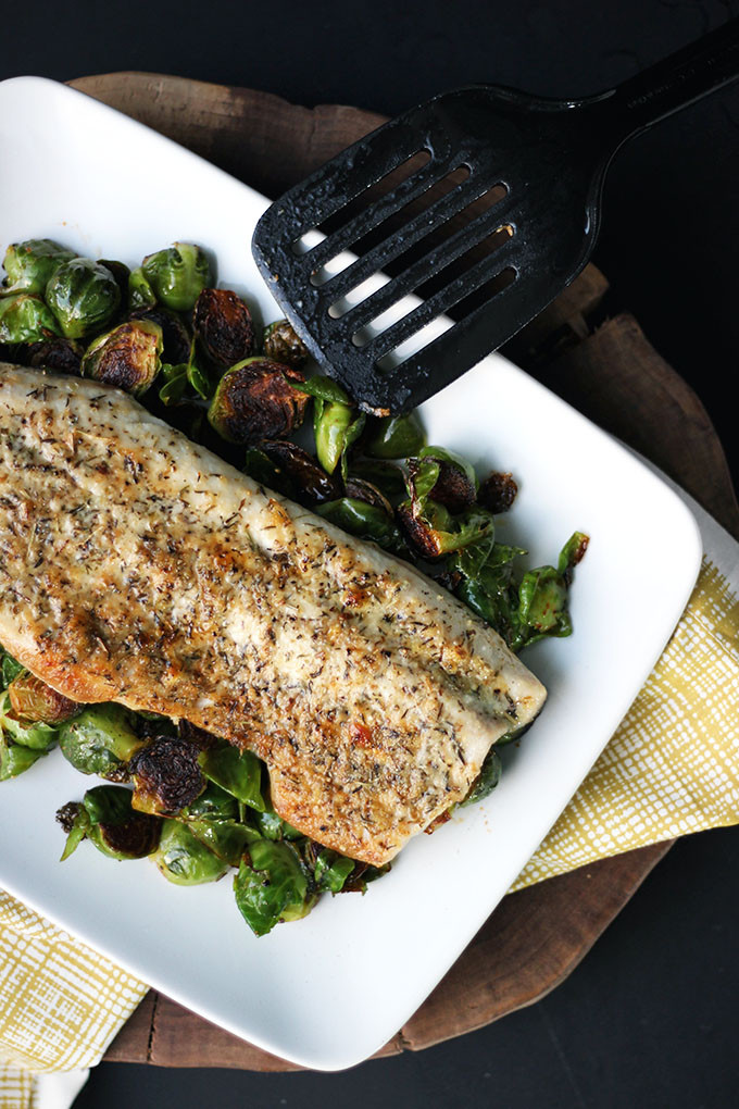 Parmesan and Herb Crusted Fish 1