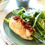 Prosciutto Asparagus Stuffed Chicken Breast