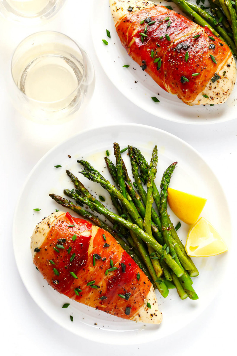 Prosciutto-Wrapped Baked Chicken 1
