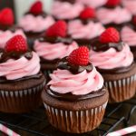 Raspberry Chocolate Cupcakes 2