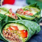 Raw Vegan with Collard Wraps
