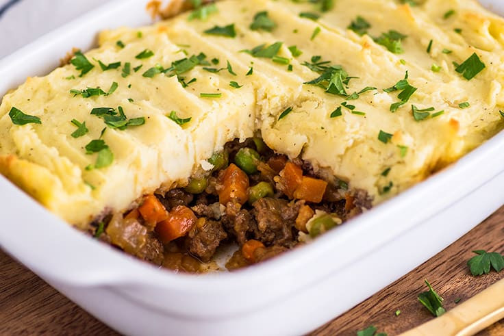 Shepherd's Pie With Ground Beef