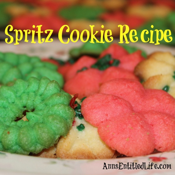 Spritz Cookie1