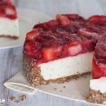 Strawberry Lime Mojito Cheesecake