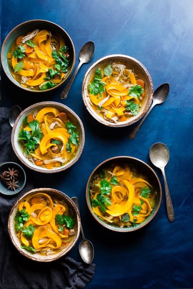 This Crock Pot Paleo Chicken Noodle Soup