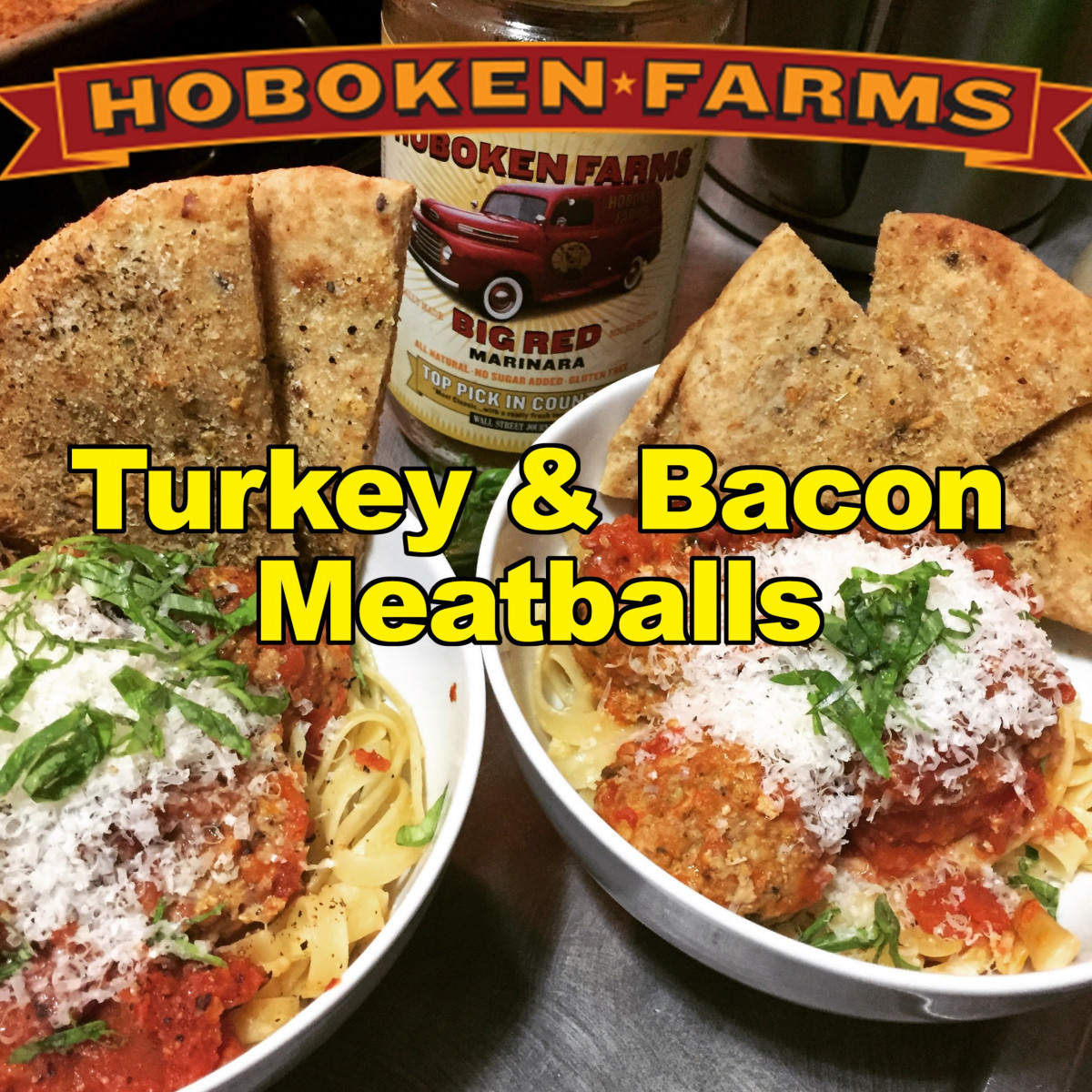 Turkey and Bacon Meatballs