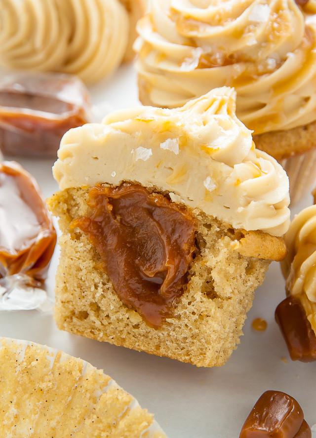 Ultimate Salted Caramel Cupcakes 1