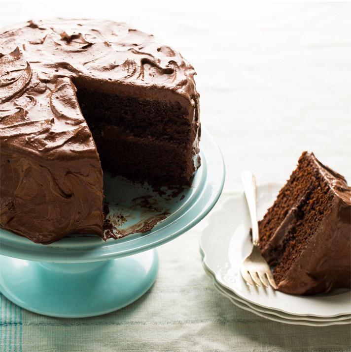 Vegan Chocolate Cake 1