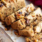 Vegan Cinnamon Raisin Quick Bread