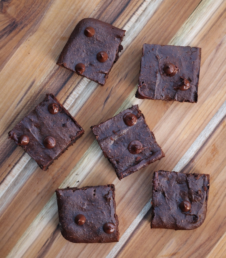 Vegan Double Chocolate Sunflower Brownies 1
