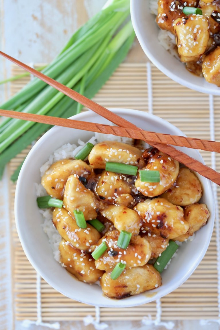 Gluten Free Chinese Honey Chicken 1