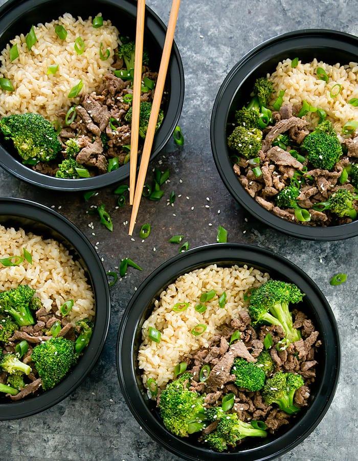 Korean Beef Bowls Meal Prep 1