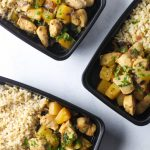 Pineapple Chicken Meal Prep Bowls 1